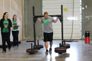 Alec carrying 355# like it is nothing!