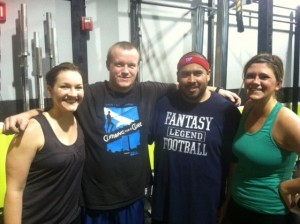 This weeks OnRamp crew looking strong after day two.  Keep it up!