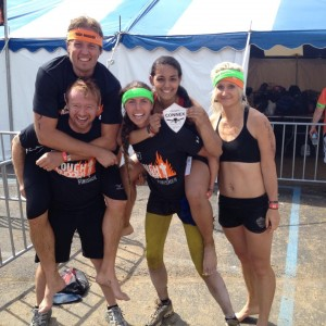 Congrats all of our Tough Mudders!   (Kelyn not pictured)