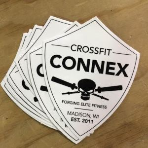 Let us know if you want to show your Connex pride around town with a Connex shield decal!