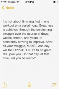 Words from the 2015 CrossFit Games Fittest Man on Earth, Ben Smith