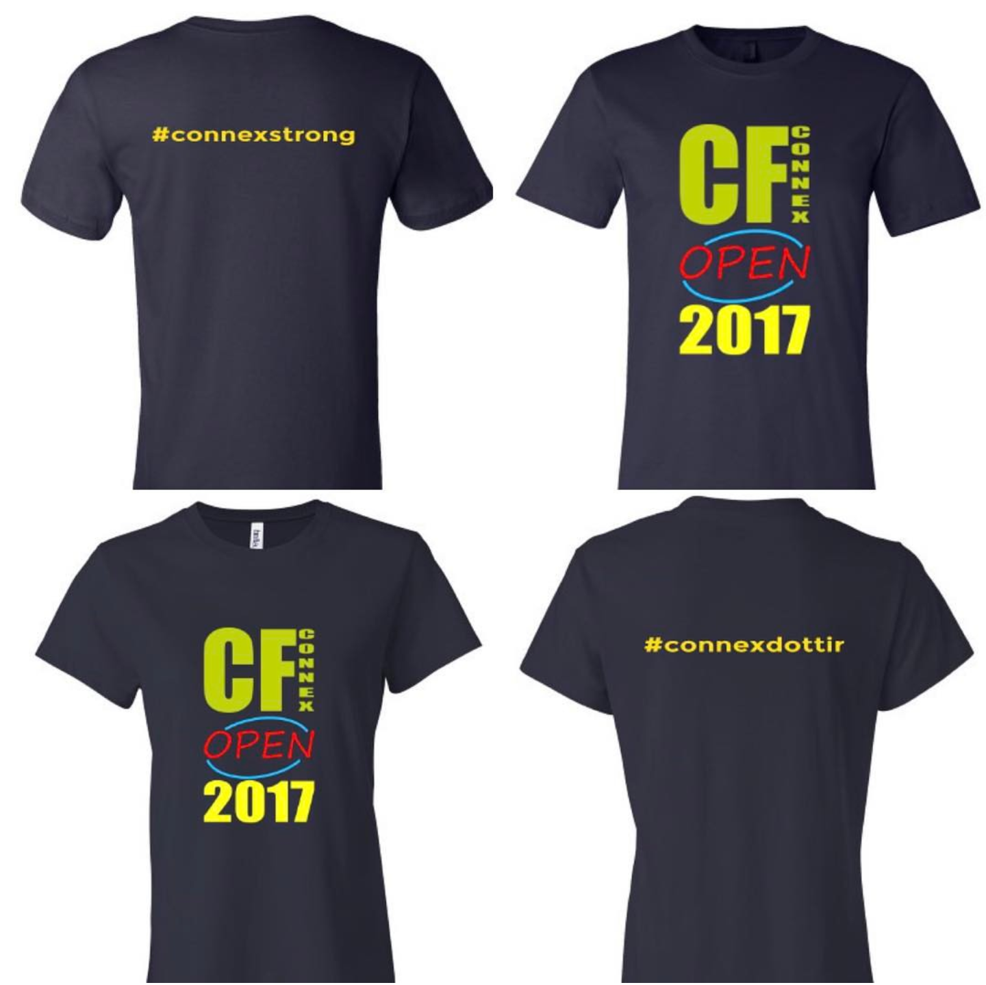 Wod friday 20170203 crossfit connex for Crossfit open t shirt